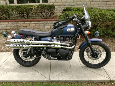 NICE 2016 Triumph Scrambler 900 for sale
