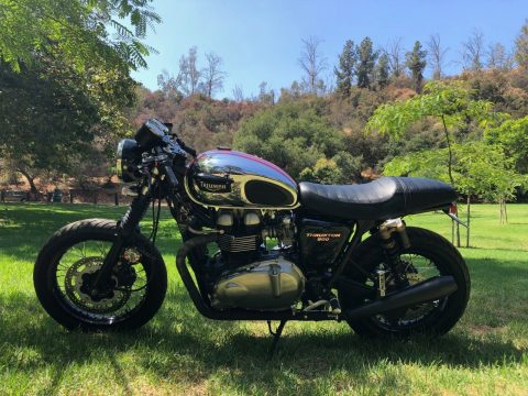 2007 Triumph Thruxton Low Miles for sale