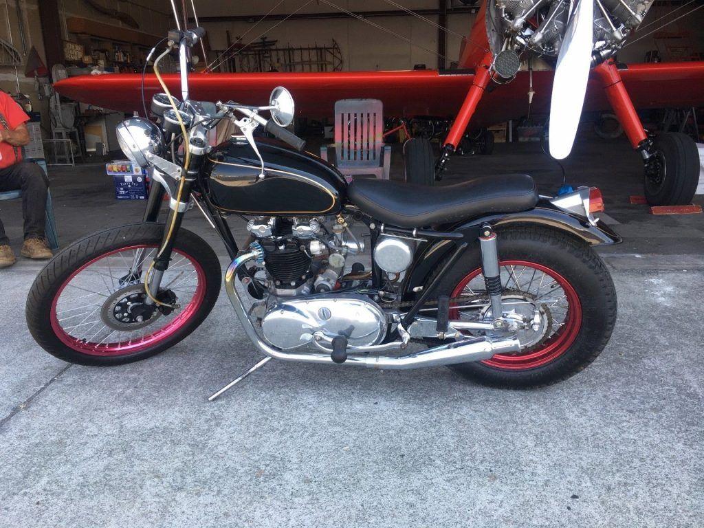 1958 Triumph TR 6 Bobber 650cc