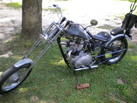 1966 Triumph Tiger 650 Chopper for sale