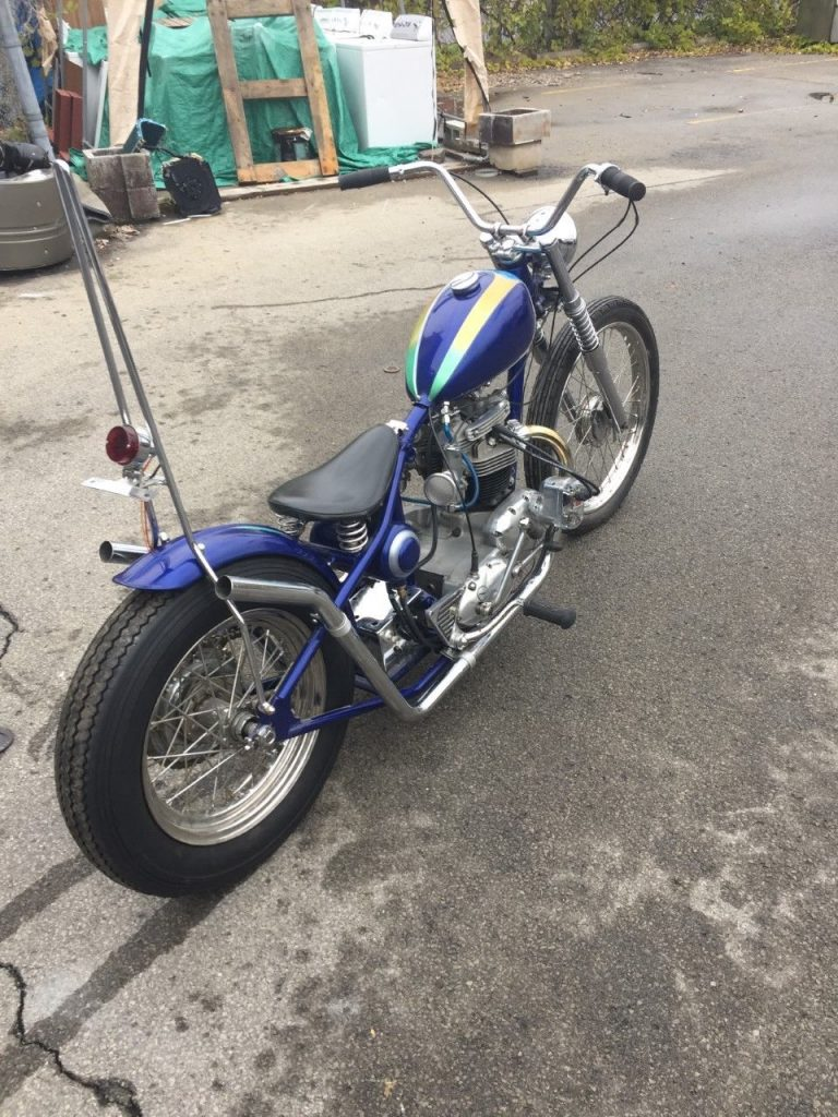 1968 Triumph Bonneville Chopper