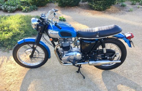 1968 Triumph TR6 R Trophy Sport Motorcycle for sale