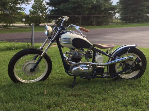 1972 Triumph Tiger T100 Custom Bobber/Chopper for sale