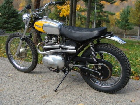 1973 Triumph TR5T Trophy Trail 500 for sale