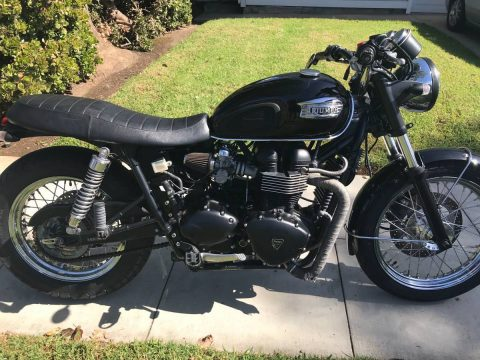 2004 Triumph Bonneville 900cc for sale