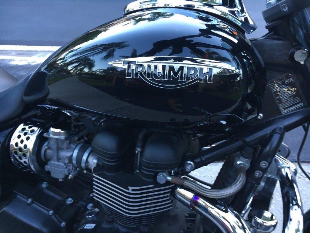 2011 Triumph Bonneville Speedmaster