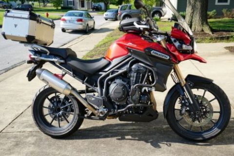 2015 Triumph Tiger 1200 for sale