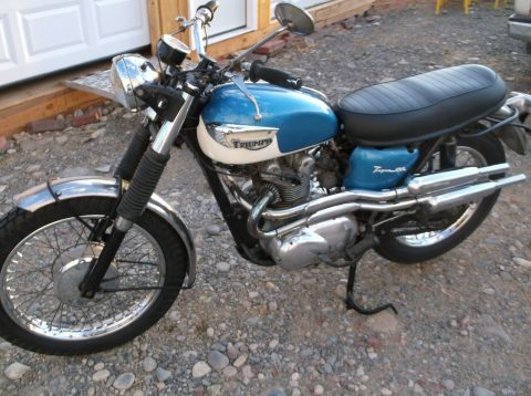 1967 Triumph T100c, 500 for sale