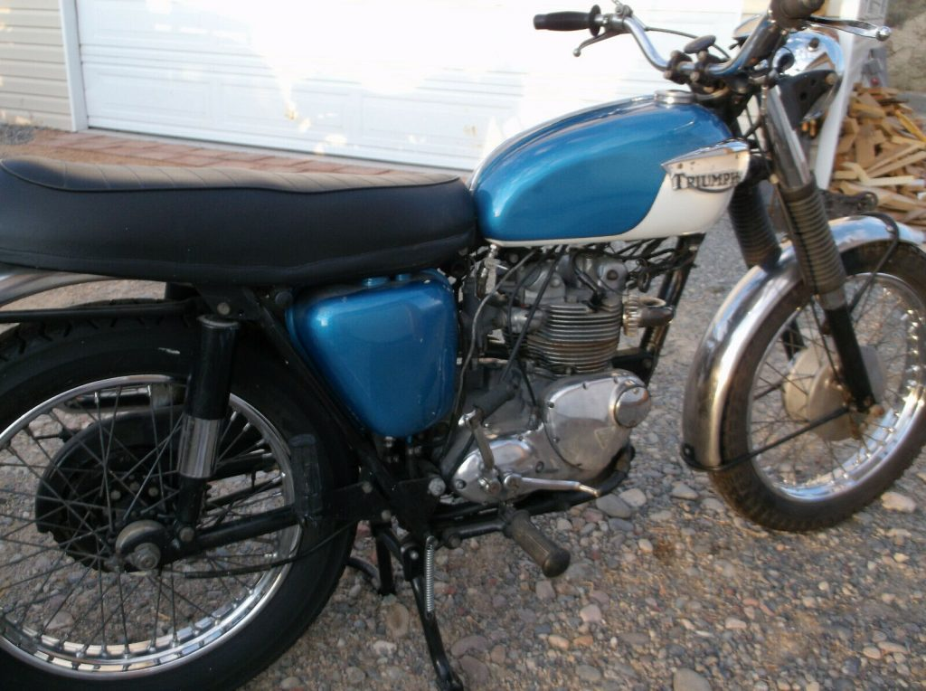 1967 Triumph T100c, 500
