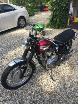 1968 Triumph Bonneville, Beautiful and completely original restored for sale