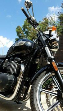 2014 Triumph Bonneville 460 Miles Only Garage Kept for sale